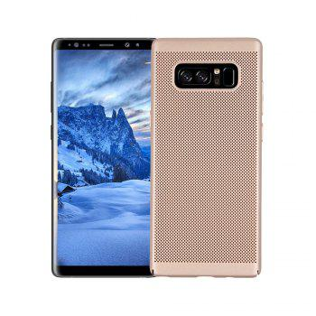 Cover Case for Samsung Galaxy Note 8 Luxury Heat Dissipation Ultra Thin Matte Hard PC - GOLDEN