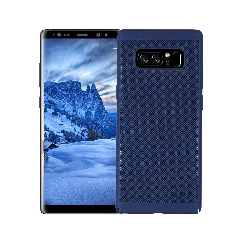 Cover Case for Samsung Galaxy Note 8 Luxury Heat Dissipation Ultra Thin Matte Hard PC - BLUE
