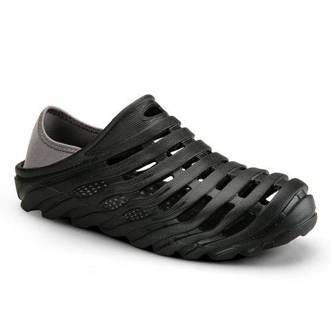 Men Light Wading Beach Shoes - BLACK 43