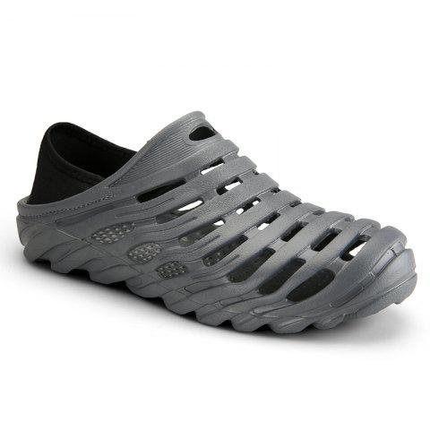 Men Light Wading Beach Shoes - GRAY 43