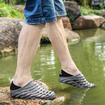Men Light Wading Beach Shoes - GRAY 42