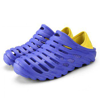 Men Light Wading Beach Shoes - BLUE 45