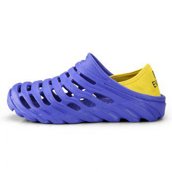 Men Light Wading Beach Shoes - BLUE 44