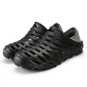 Men Light Wading Beach Shoes - BLACK BLACK