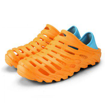 Men Light Wading Beach Shoes - YELLOW 44
