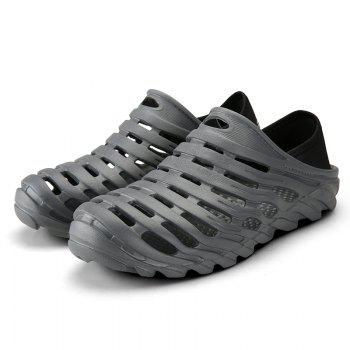 Men Light Wading Beach Shoes - GRAY 44