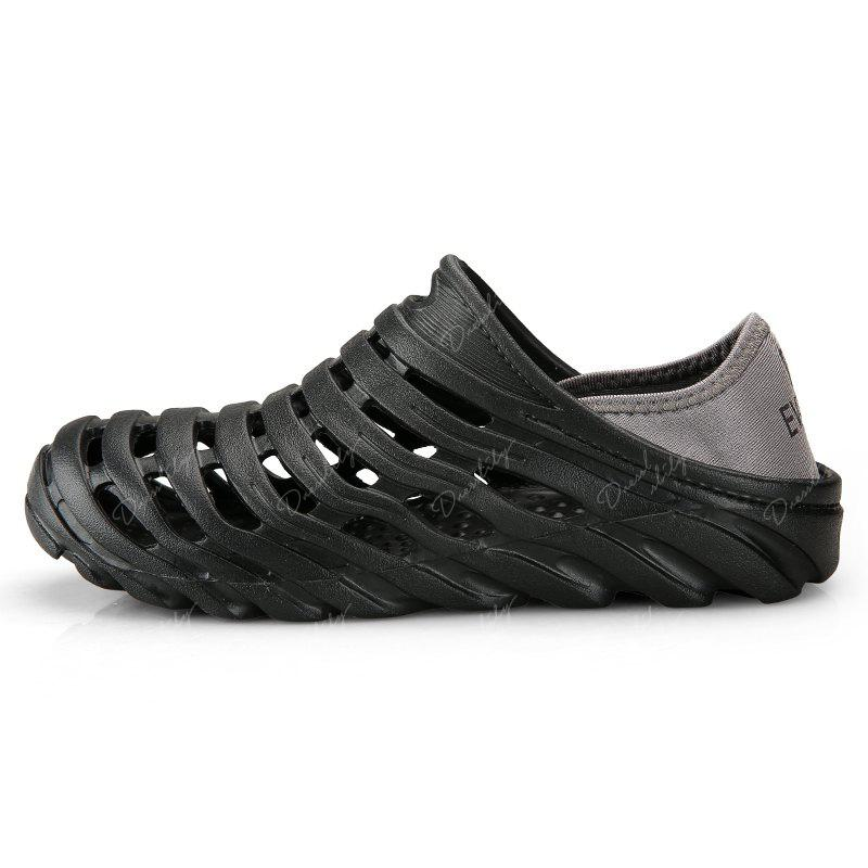 Men Light Wading Beach Shoes - BLACK 42