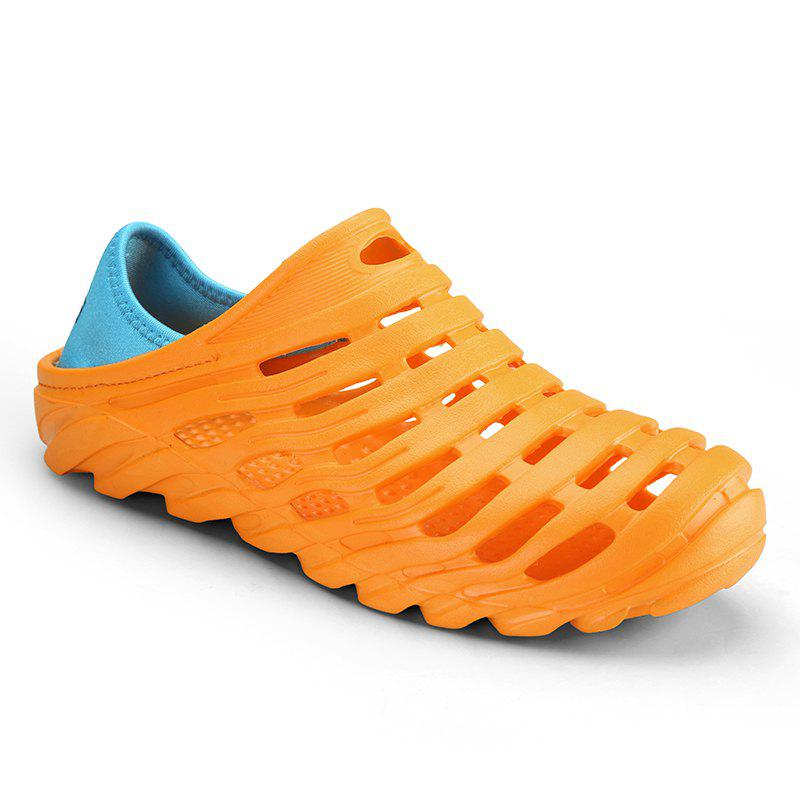 Men Light Wading Beach Shoes - YELLOW 41