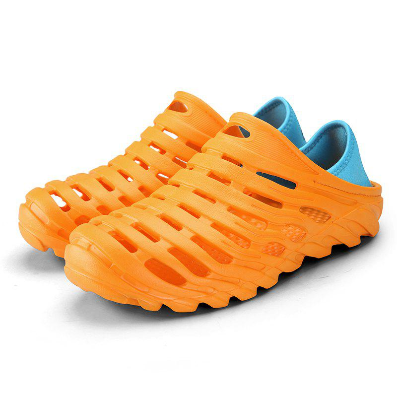 Men Light Wading Beach Shoes - YELLOW 42