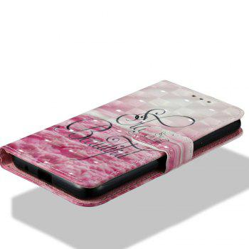 3D Painting Filp Case for Xiaomi Redmi 5A Pink Cloud Pattern PU Leather Wallet Stand Cover - PINK