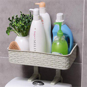 Creative Multifunctional Shelf Bathroom Toilet Sundries Storage Rack -  GREEN