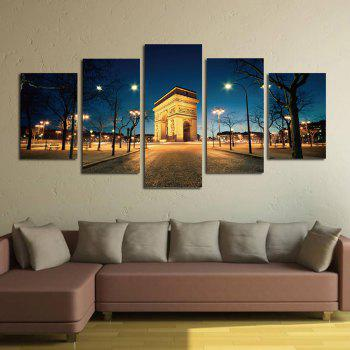 The Arc DE Triomphe Street View Parlour Decorative Painting Bedroom Painting - COLORFUL COLORFUL
