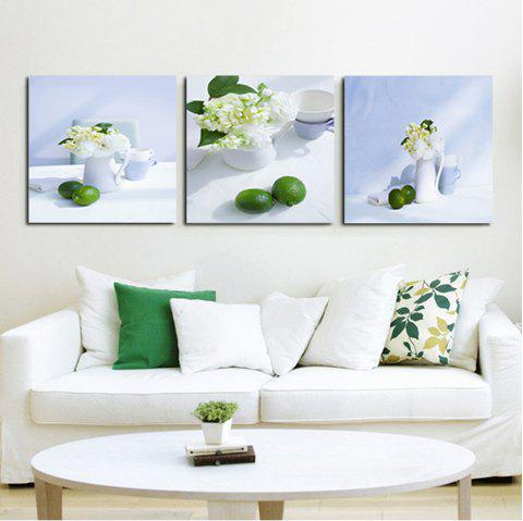 White Tablecloth Fruit Dish The Sitting Room Adornment To Draw A Bedroom To Draw The Oil Painting - COLORFUL