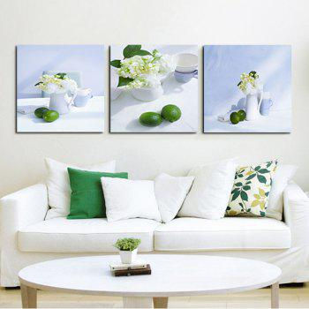 White Tablecloth Fruit Dish The Sitting Room Adornment To Draw A Bedroom To Draw The Oil Painting - COLORFUL COLORFUL