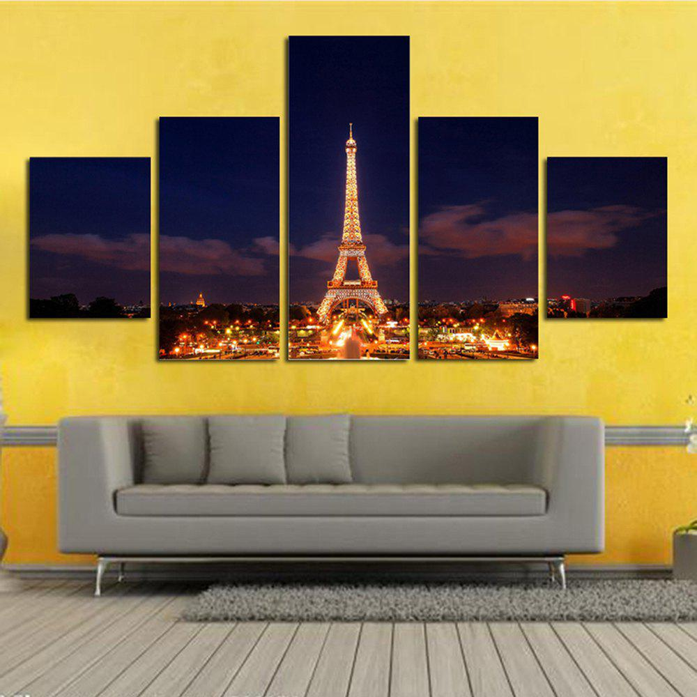 2018 In The Night View of The Pylon of The Living Room Decoration ...