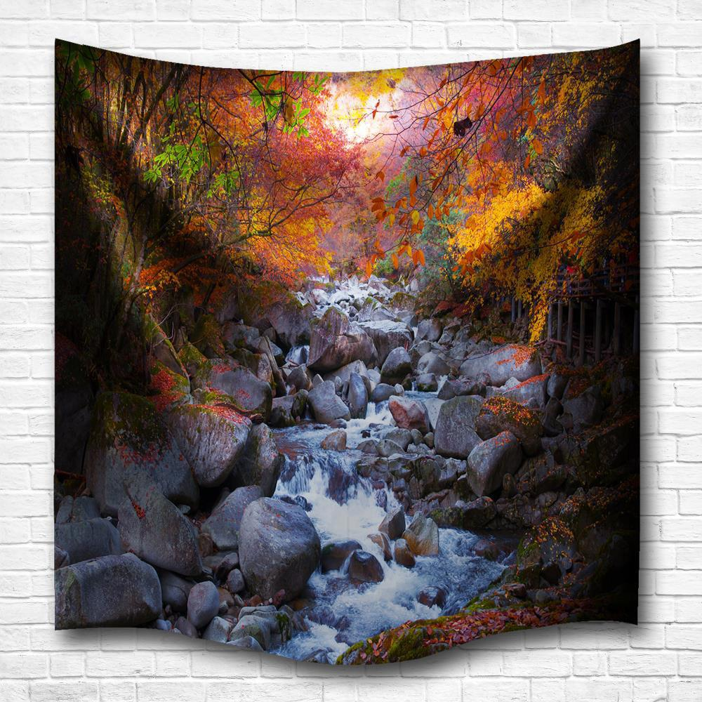 In the Spring 3D Digital Printing Home Wall Hanging Nature Art Fabric Tapestry for Bedroom Living Room Decorations high quality led modern minimalist crystal pendant lamp light luxury living room bedroom art creative restaurant hanging lights