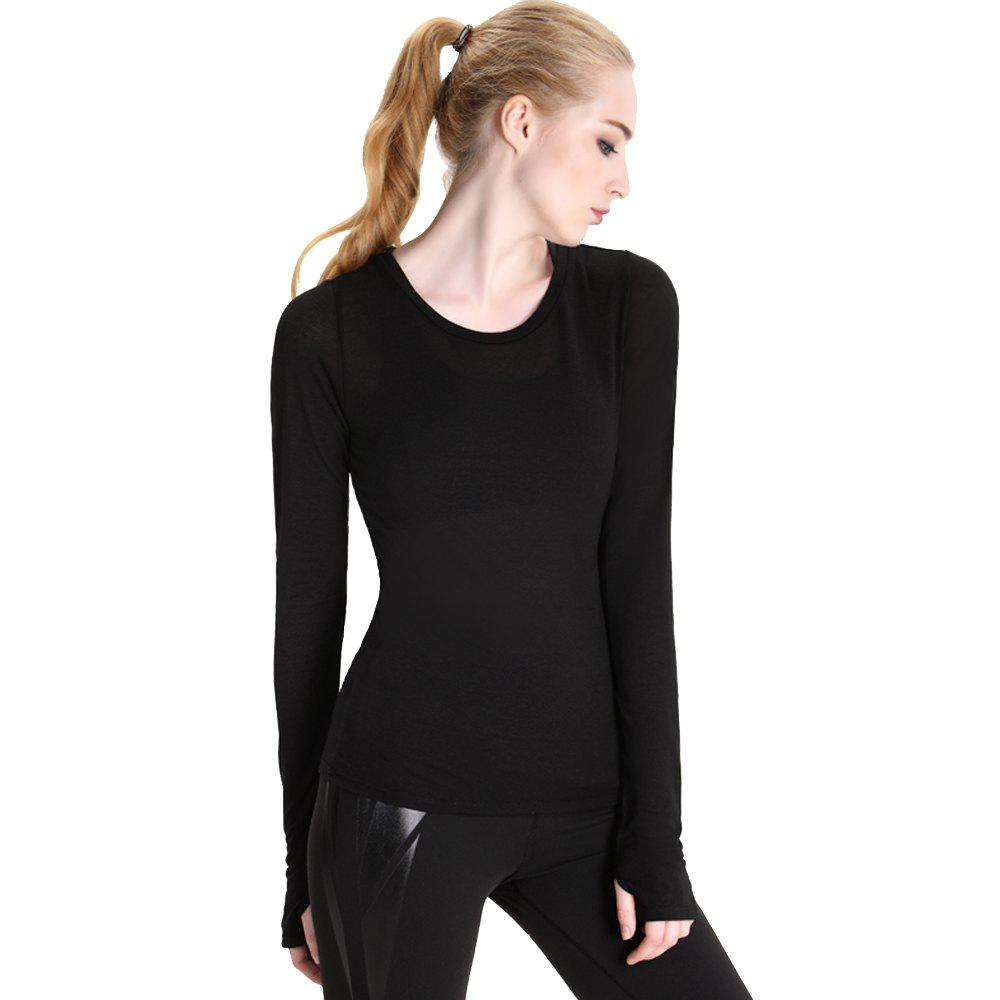 Essar Plastic Yoga Air Conditioning Sportswear - BLACK M