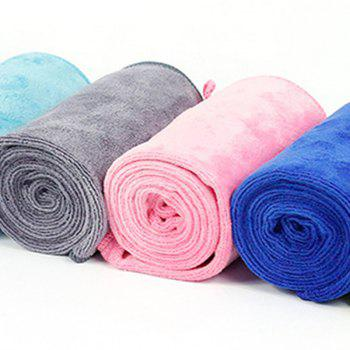 1 Piece Sports Towel Portable Pack Sweat Absorbent Fast Drying Sport Accessory - PINK 30CM X 110CM