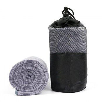 1 Piece Sports Towel Portable Pack Sweat Absorbent Fast Drying Sport Accessory - GRAY GRAY