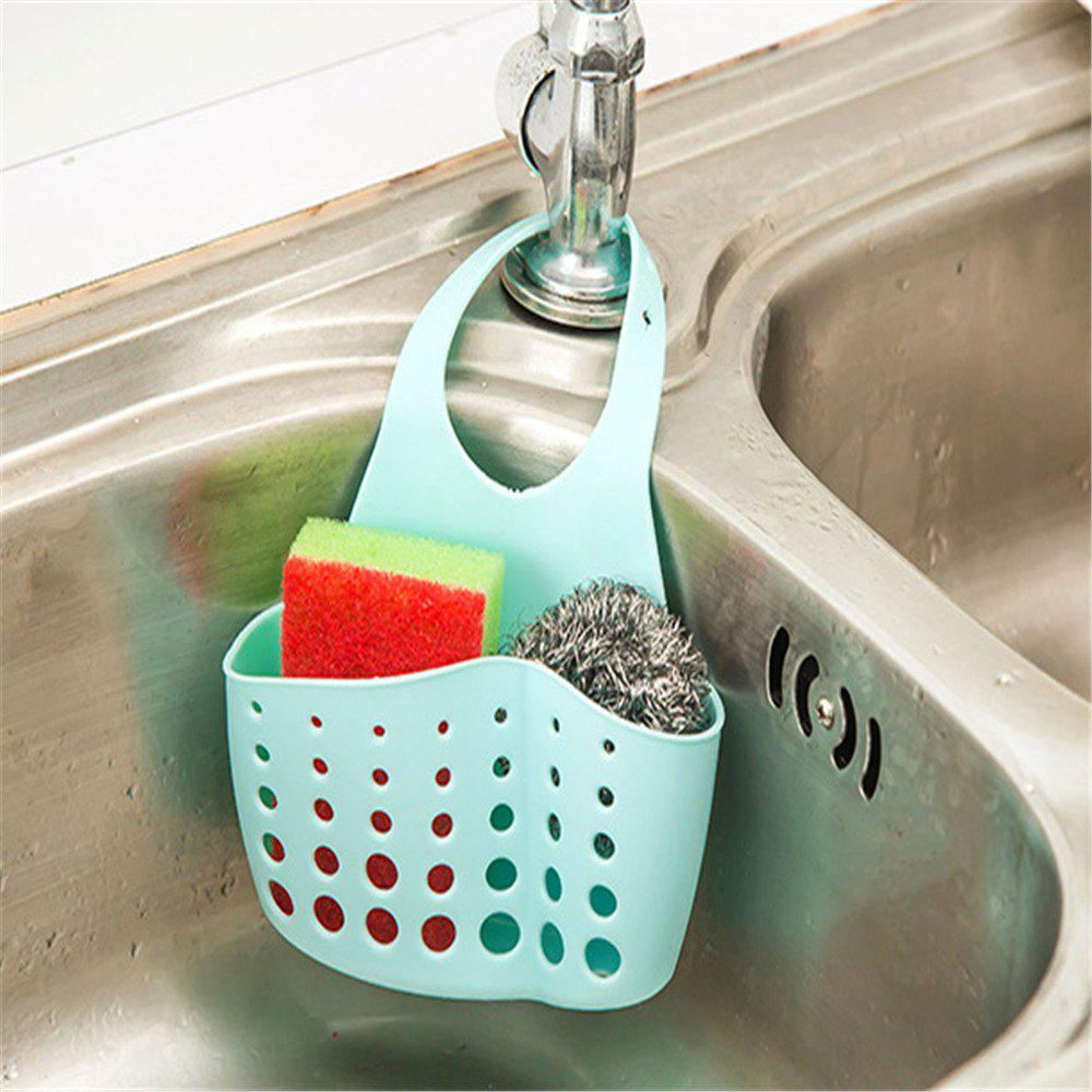 Can Be Linked To The Sink Sink Debris Pouch - BLUE
