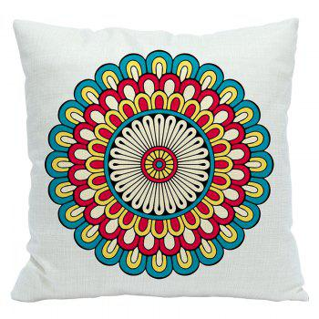 National Wind Polygon Pattern Custom Pillowcases Cotton and Linen Pillow Cushion Decoration Car - BEIGE STYLE10