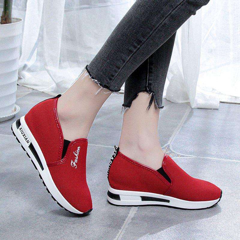 Ladies Thick Soled Shoes