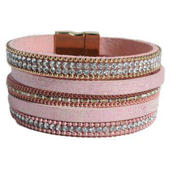New Fashion Crystal Rhinestone Bracelet Wrap Cuff