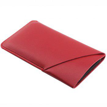 Charmsunsleeve For Samsung Galaxy S8 Plus Case Tri-Fold Style Microfiber Leather Phone Sleeve Bag With Card Slots - RED