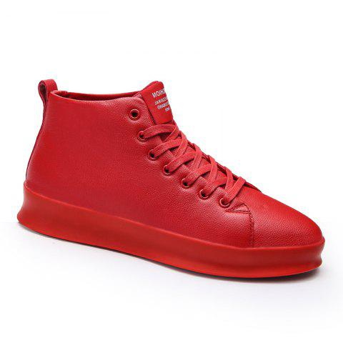 Fashion and Leisure Martin Shoes - RED 42