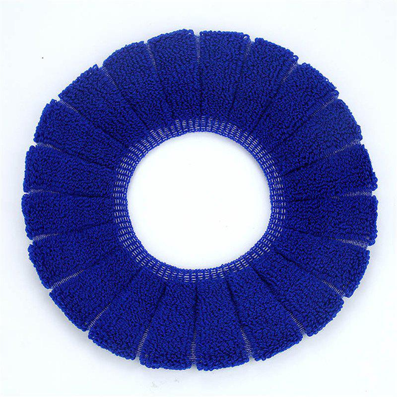 O-Shape Toilet Seats Warm Thick Knitted Pumpkin Pattern Toilet Seat Cushion Diameter - ROYAL