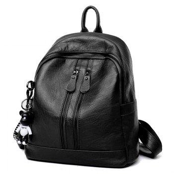 Backpack 2018 Female New Leather Casual Fashion