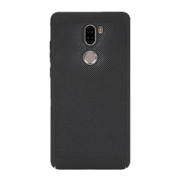 Cover Case for Xiaomi 5s Plus Luxury Heat Dissipation Ultra Thin Matte hard PC - BLACK