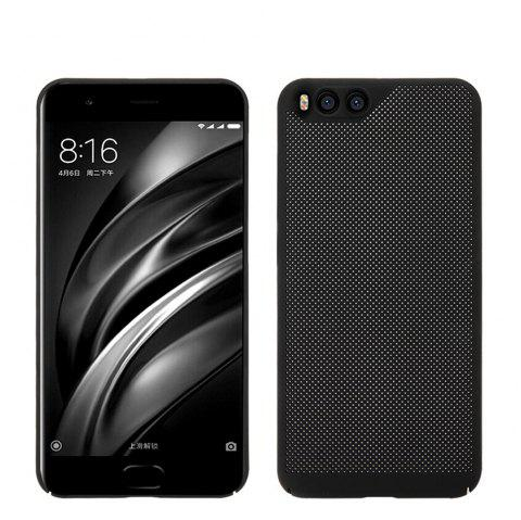 Cover Case for Xiaomi 6 Luxury Heat Dissipation Ultra Thin Matte hard PC - BLACK