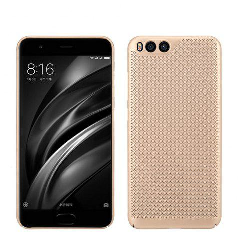 Cover Case for Xiaomi 6 Luxury Heat Dissipation Ultra Thin Matte hard PC - GOLDEN