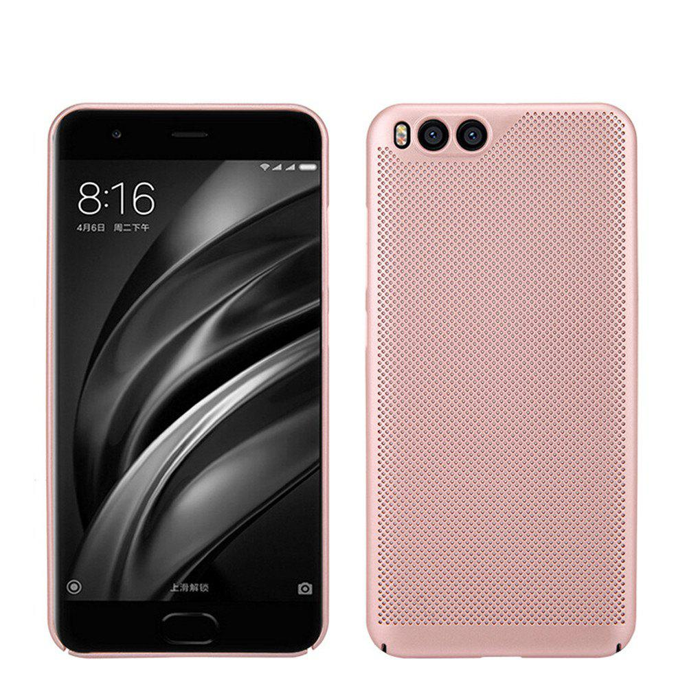 Cover Case for Xiaomi 6 Luxury Heat Dissipation Ultra Thin Matte hard PC - ROSE GOLD