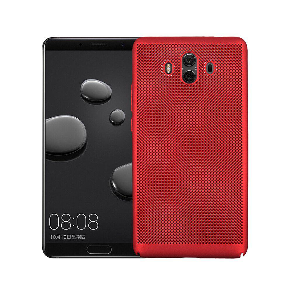 Cover Case for Huawei Mate 10 Luxury Heat Dissipation Ultra Thin Matte hard PC - RED