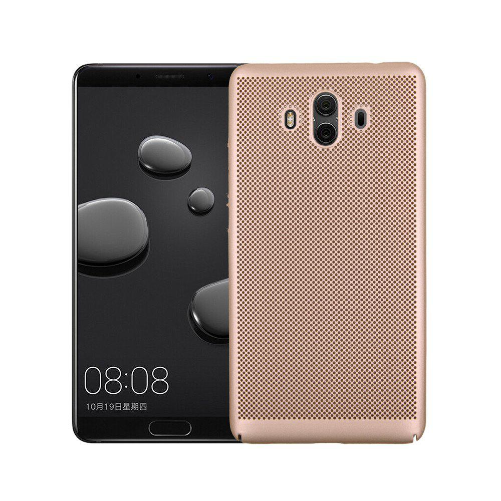 Cover Case for Huawei Mate 10 Luxury Heat Dissipation Ultra Thin Matte hard PC - GOLDEN