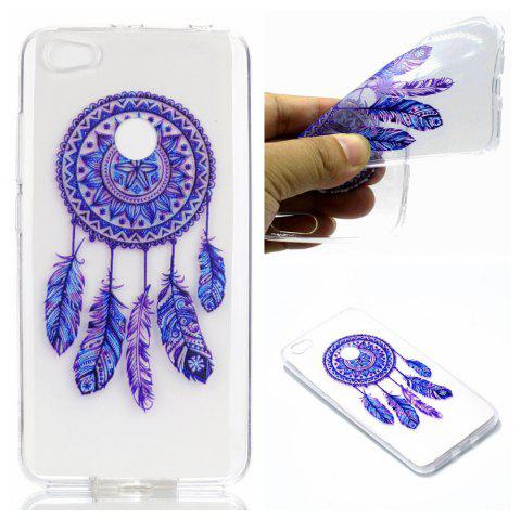 TPU Case for Xiaomi Redmi Note 5A Pro Blue Bells Pattern Soft Back Cover - BLUE