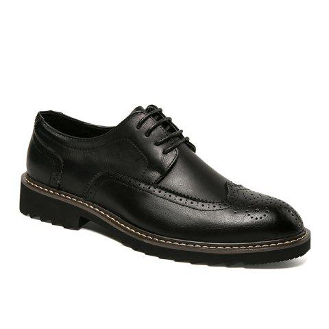 Brogue Business Casual Leather Shoes
