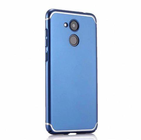Cover Case for Huawei Honor V9 New Turnkey Ultra-thin Injection with PC Following Art Line - BLUE
