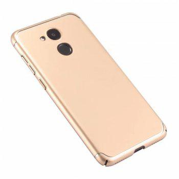 Cover Case for Huawei Honor V9 New Turnkey Ultra-thin Injection with PC Following Art Line - GOLDEN