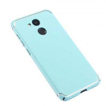 Cover Case for Huawei Honor V9 New Turnkey Ultra-thin Injection with PC Following Art Line - GREEN