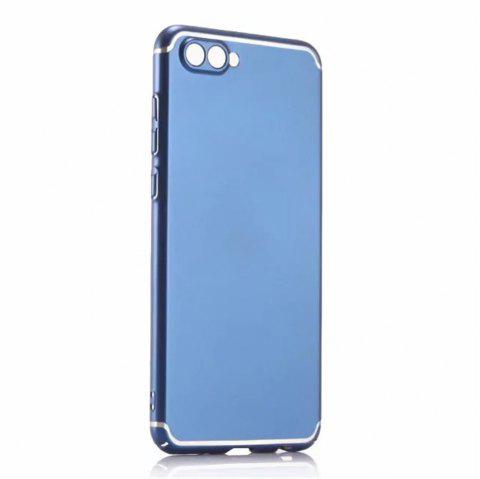 Cover Case for Huawei Honor V10 New Turnkey Ultra-thin Injection with PC Following Art Line - BLUE