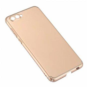 Cover Case for Huawei Honor V10 New Turnkey Ultra-thin Injection with PC Following Art Line - GOLDEN