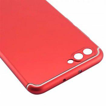 Cover Case for Huawei Honor V10 New Turnkey Ultra-thin Injection with PC Following Art Line - RED