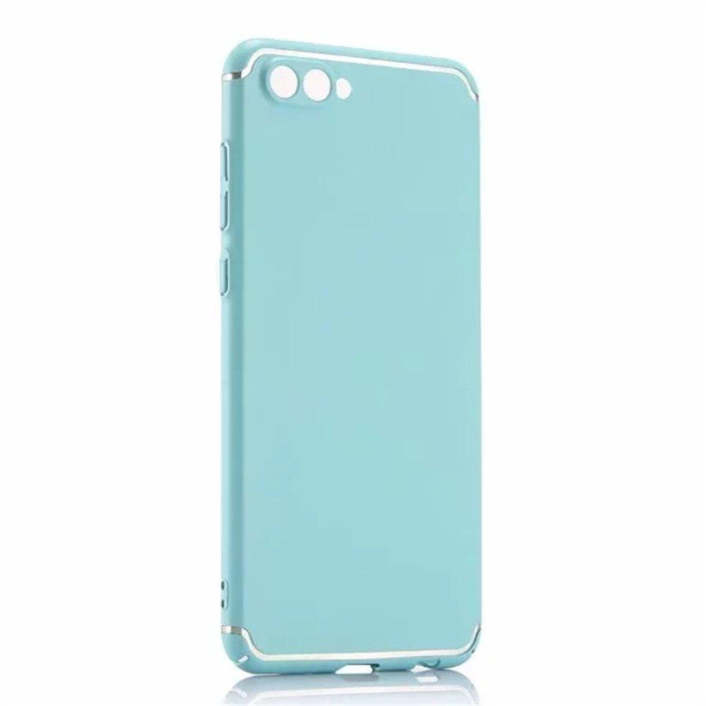 Cover Case for Huawei Honor V10 New Turnkey Ultra-thin Injection with PC Following Art Line - GREEN