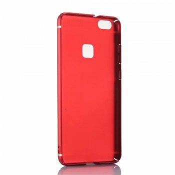 Cover Case for Huawei P10Lite New Turnkey Ultra-thin Injection with PC Following Art Line - RED