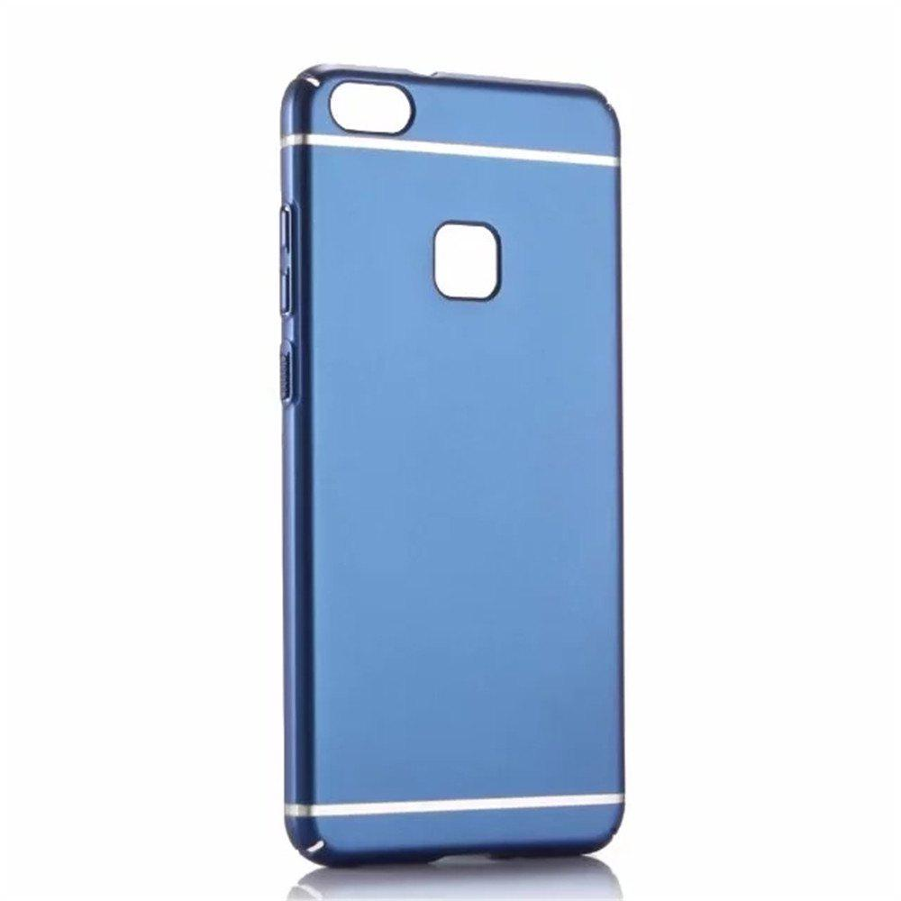 Cover Case for Huawei P10Lite New Turnkey Ultra-thin Injection with PC Following Art Line - BLUE