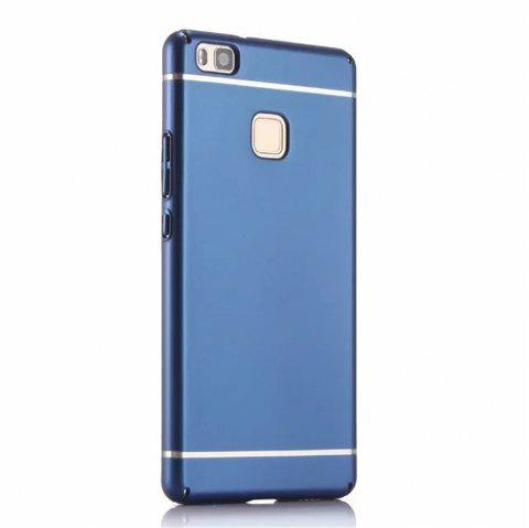 Cover Case for Huawei  P9 Lite / G9 New Turnkey Ultra-thin Injection with PC Following Art Line - BLUE