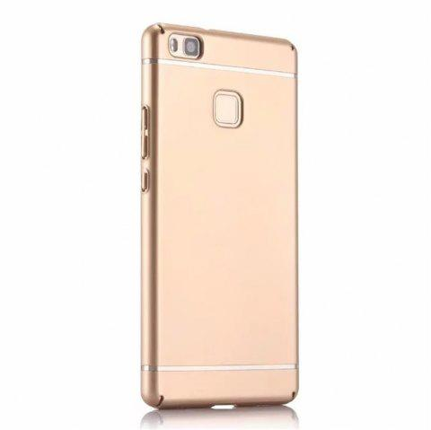 Cover Case for Huawei  P9 Lite / G9 New Turnkey Ultra-thin Injection with PC Following Art Line - GOLDEN
